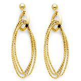 Gold Jewelry: Gold Earrings